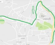 karta za start u Sinju – 2 kolo Strka Trail lige 2017